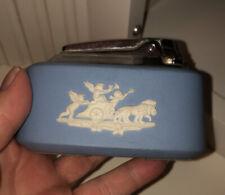 Wedgewood Blue Jasperware Table Lighter