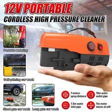 Portable Car Washer Gun Brush Pump Cleaner High Pressure Mini Washing Machine