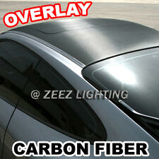 Carbon Fiber Moon Roof Hood Trunk Tint Overlay Vinyl Wrap Cover Film 60 x 50 C01