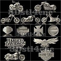 13 3D Model STL CNC Router Artcam Aspire Harley Davidson Cut3D Vcarve