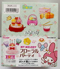 Sanrio My Melody Floral Party Complete Box Set - Re-ment , h#3