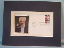 Famed Conductor- Arturo Toscanini and First Day Cover of his own stamp