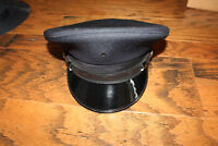 Midway Military Style police Hat NEW 5 Star Cap Navy Blue  Size S 6 1/2- 6 7/8