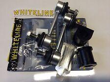 COMMODORE OMEGA VE REAR WHITELINE D BUSHES + SWAY BAR LINKS H-DUTY V6 & V8.