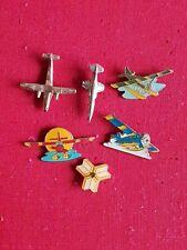 Lot 6x Piper Cheyenne Aviation Aircraft Airplane Jet Pin Badge