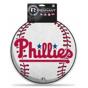 Philadelphia Phillies Die Cut Felt Baseball Pennant [NEW] MLB Sign Wall Man Cave
