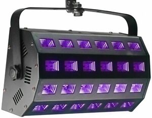 Stagg Stage UV Wash Light Unit 24 x 3 Watts - SLE-UV243-1