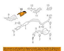 MAZDA OEM 06-10 5 2.3L-L4 Exhaust-Heat Shield C23556441A