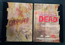 THE WALKING DEAD Chop Shop Journal *RARE* NYCC COMIC CON 2013 + BONUS ITEMS