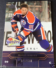 2004 Upper Deck Sportsfest WAYNE GRETZKY #SF13 & #ed 028/500 Edmonton Oilers