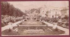 CARTE PANORAMIQUE - MENTON - Casino et jardins