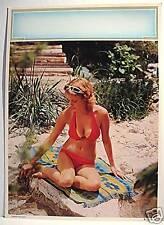 Pin Up Semi Nude Girl Calendar Print / Summer Thoughts