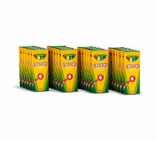 Crayola 4 ct Crayons - 24 boxes per case pack 52-0004