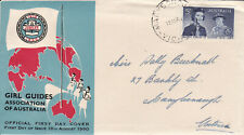 1960 Girl Guides Golden Jubilee first day cover