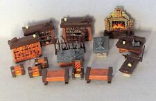 1998 Hero Quest Board Game Replacement Parts Lot of Furniture Pieces HeroQuest