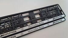2 portamatriculas AMG (w208,w117,w176,w209,w124,w164,w163,w204,w205,w212,w207)