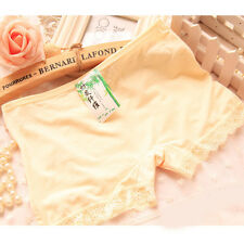 Women Belly Latin Ballet Indian Dance Safety Shorts Leggings Pants 3 Colors Nude