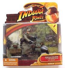 Indiana Jones Ultima Cruzada soldado alemán con motocicleta 2008 C-10 Mint MIMB
