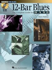 12-Bar Blues - The Complete Guide for Bass - Bass Guitar Music Book
