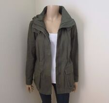 NWT Forever 21 Womens Twill Military Utility Jacket Size Small Olive Green