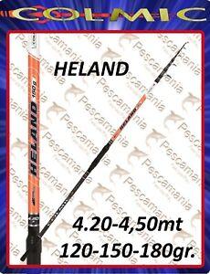Canne à Pêche Colmic Heland Planche Mt. 4,20 MT 4.50 120-150-180 Gr Surf Casting