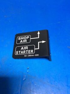 Air Fill Identification Decal 59-28644-000