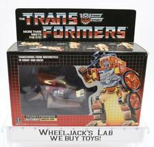 Wreck-Gar NICE BOX MIB 100% Complete E 1986 Vintage Hasbro G1 Transformers