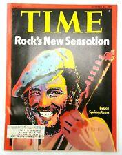 Time Magazine Bruce Springsteen October 27 1975 Rock's New Sensation