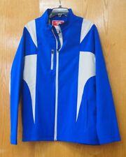NWT Men's Team 365 Soft Shell Jacket LG Royal Blue Wind Water Resistant Coat