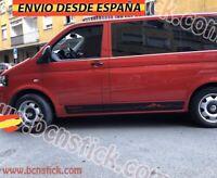 Kit Laterales Mountain Addict stickers Vinilos Furgo Camper VW Multivan 212x15cm