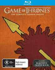 Game Of Thrones Season 4 (Includes BONUS Death Book) : NEW Blu-Ray