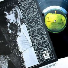 GEORGE HARRISON WONDERWALL LP THE BEATLES 1968 APPLE ORIG.+PATTIE BOYD POSTER NM