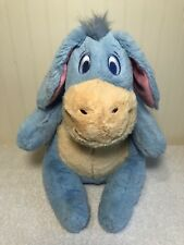 "Eeyore Plush Disney Baby Soft 12"" Stuffed Animal Winnie The Pooh Lovey"