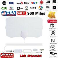 960 Mile Range Antenna TV Digital HDTV 1080p Skywire 4K HD Antena Digital