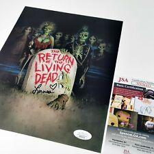 More details for return of the living dead linnea quigley 8x10 horror autograph *jsa coa nn36415