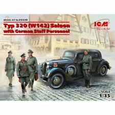 Icm Icm35539 Typ 320 (W142) Saloon with German Staff Personnel 1/35
