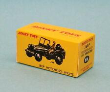 Boite neuve Dinky Toys Jeep Hotchkiss willys réf: 816