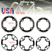SNAIL 32-42t BCD104mm Narrow Wide Single Speed MTB Bike Crankset Chainring ring