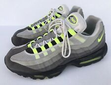 Nike Air Max 95 OG Neon Green Volt Cool Grey Black 2015 Size 13 554970-071