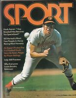 Sport Magazine Hank Aaron Brooks Robinson Bill Hartack June 1972 071719nonr