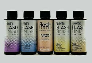 Paul Mitchell Blonde FLASH FINISH Sheer Rapid Toner Liquid Hair Color ~2 fl. oz.