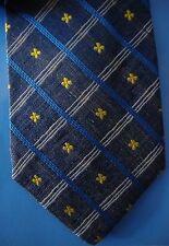 KENZO HOMME Cravatta Tie Original 100% Seta Silk Made In Italy New
