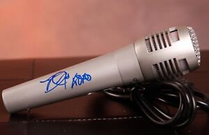 GFA Mayores & Shower BECKY G Signed Microphone PROOF B3 COA