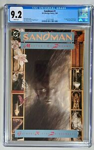 Sandman #1 / CGC 9.2 NM- / DC 1989 / 1st Appearance Morpheus (Master Of Dreams)