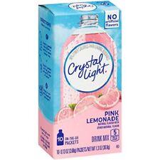 Crystal Light On The Go Pink Lemonade Sugar Free Soft Drink Mix