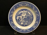 """Royal China Blue Willow Ware Chop Plate 12"""" EXCELLENT"""