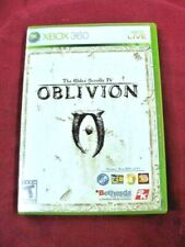 Xbox 360 Oblivion The Elder Scrolls IV Microsoft Video Game With Map no manual