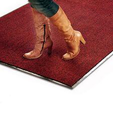 Tapis entrée lavable | plusieurs tailles du paillasson, tapis-brosse rouge