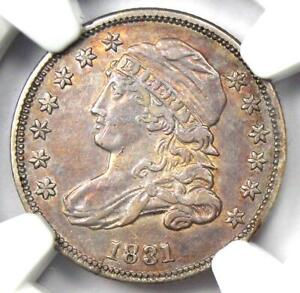 1831 Capped Bust Dime 10C - NGC XF Details - Rare Early Date - Certified Coin!