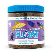 New Life Spectrum Floating Regular Pellets Color Enhancing Fish Food 120g